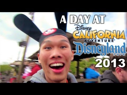 A Day At DISNEY CALIFORNIA ADVENTURE 2013 - Vlog: Ep 166, Spend the day with me as I check out Disney California Adventure and Disneyland 2013. I ride-through many DCA rides and provide some strategy, tips, and triv...