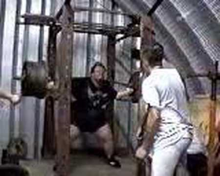 1000 pound squat