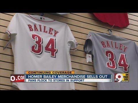 Homer Bailey jerseys hot item