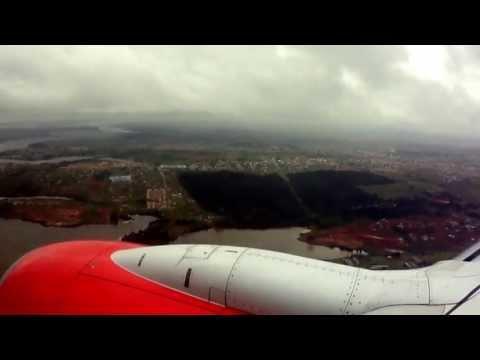 Atterrissage à Abidjan