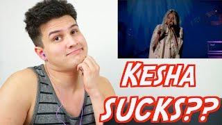 "Vocal Coach Reacts: ""KESHA SUCKS!"" - Kesha Sings Praying Reaction (Live Performance @ YouTube)"