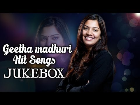 Singer Geetha madhuri Marriage Special || Hit Songs