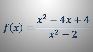 Risanje grafa funkcije – primer 6