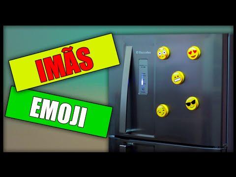 COLABOND - DIY: Imã de geladeira de emoji
