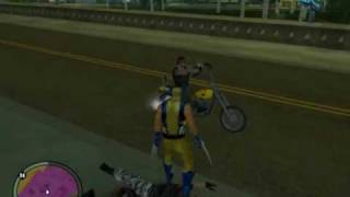 GTASA Crime Wars Wolverine Returns
