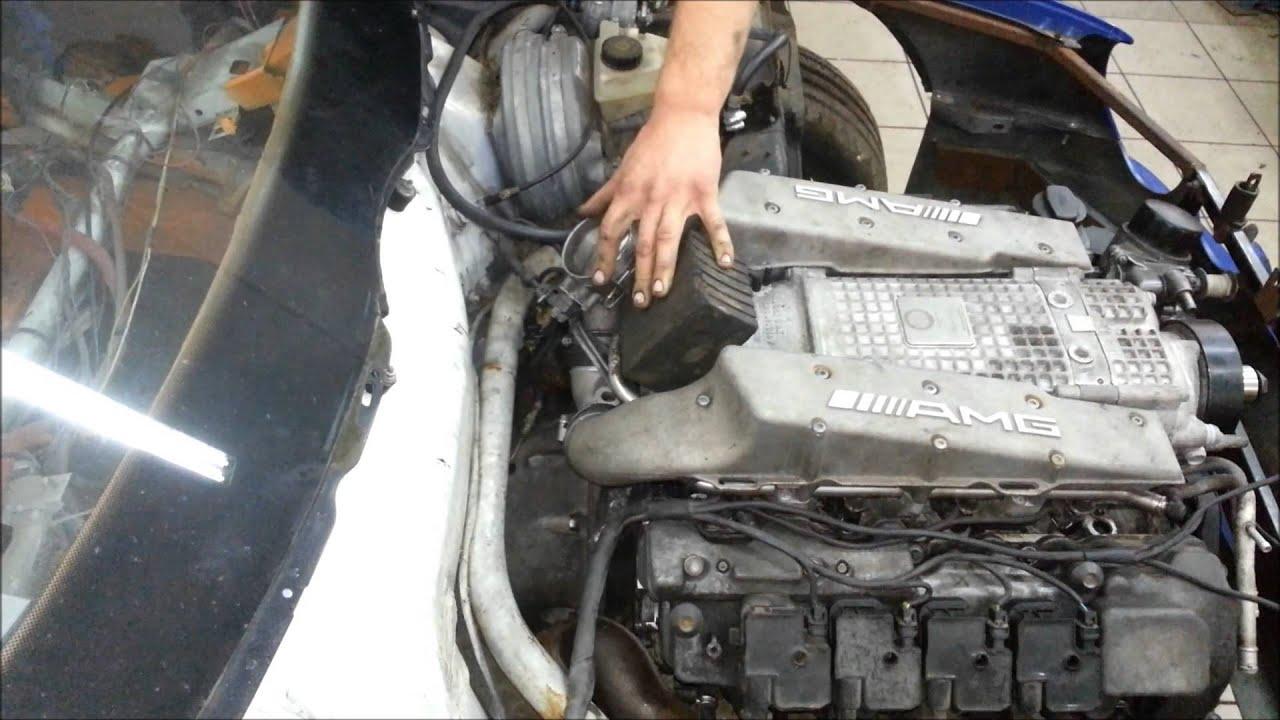 mercedes m113 kompressor engine start