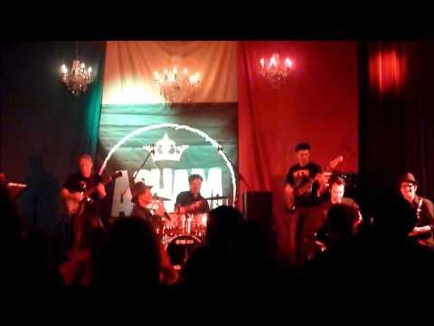 Asham band ft  Errol Dunkley part 2 @ feestzaal Bart,Antwerpen,Belgie,21 02 2014