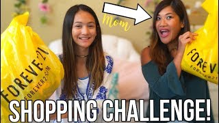 Mom and Daughter buy outfits for each other! | Shopping Challenge 2017!!
