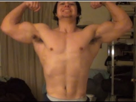 Bulk Posing & Flexing - 7 months post contest - 15 months out