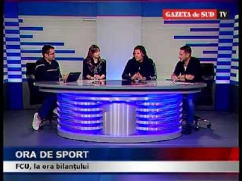 Ora de sport - Invitați: antrenorii echipei FC Universitatea Craiova, Nicolo Napoli și Dragoș Bon