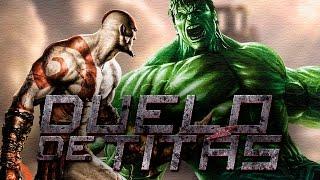 Kratos VS. Hulk Duelo De Titãs