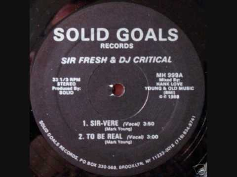 Sir Fresh DJ Critical Roar