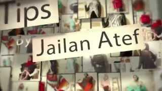 الحلقة الثالثة والعشرون من برنامج فاشون تيبس لخبيرة التجميل ومصممة الأزياء جيلان عاطف