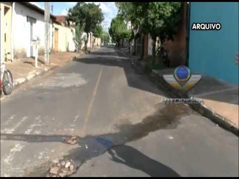 Problema Resolvido - Prefeitura trabalha para resolver falta de canaleta no Guarani