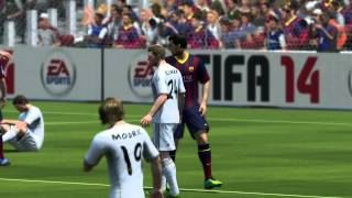 FIFA 14 FC Barcelona Vs Real Madrid (Xbox 360, PS3, PC