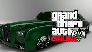 "GTA 5 Online: Potential DLC Vehicle ""B-Type"" Luxury Car"