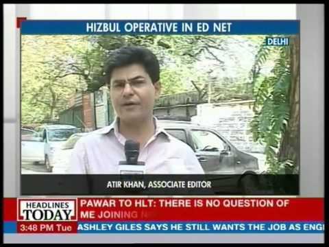Hizbul Operative in Enforcement Directorate's net