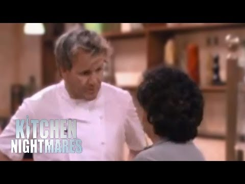 Gordon Ramsay Argues with Awkward Customer - Ramsay's Kitchen Nightmares