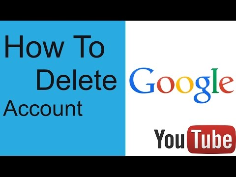 How To Delete Google Account