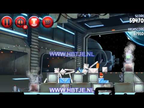 Angry Birds Star Wars 2 Naboo Invasion p1-7 3 stars