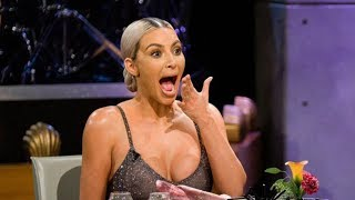 Kim Kardashian ADMITS to Kylie & Khloe's Pregnancies During 'Spill Your Guts or Fill Your Guts!'