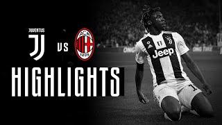 HIGHLIGHTS: Juventus vs AC Milan - 2-1 - Kean clinches the win!