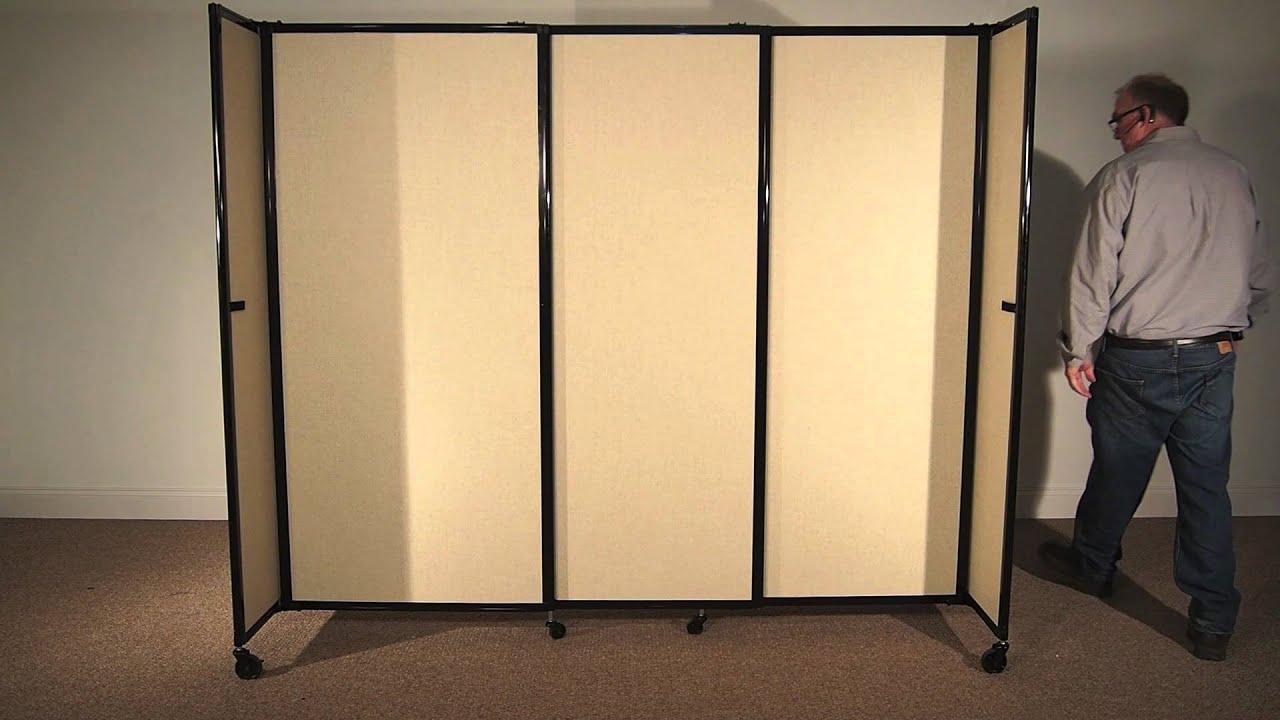 Straightwall portable sliding room ider by versare youtube