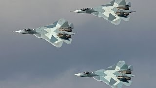 New Russian Fifth-Generation Stealth Fighter Sukhoi PAK FA