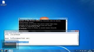 Como Reparar Archivos Dañados De Nuestro Windows 7 (sin