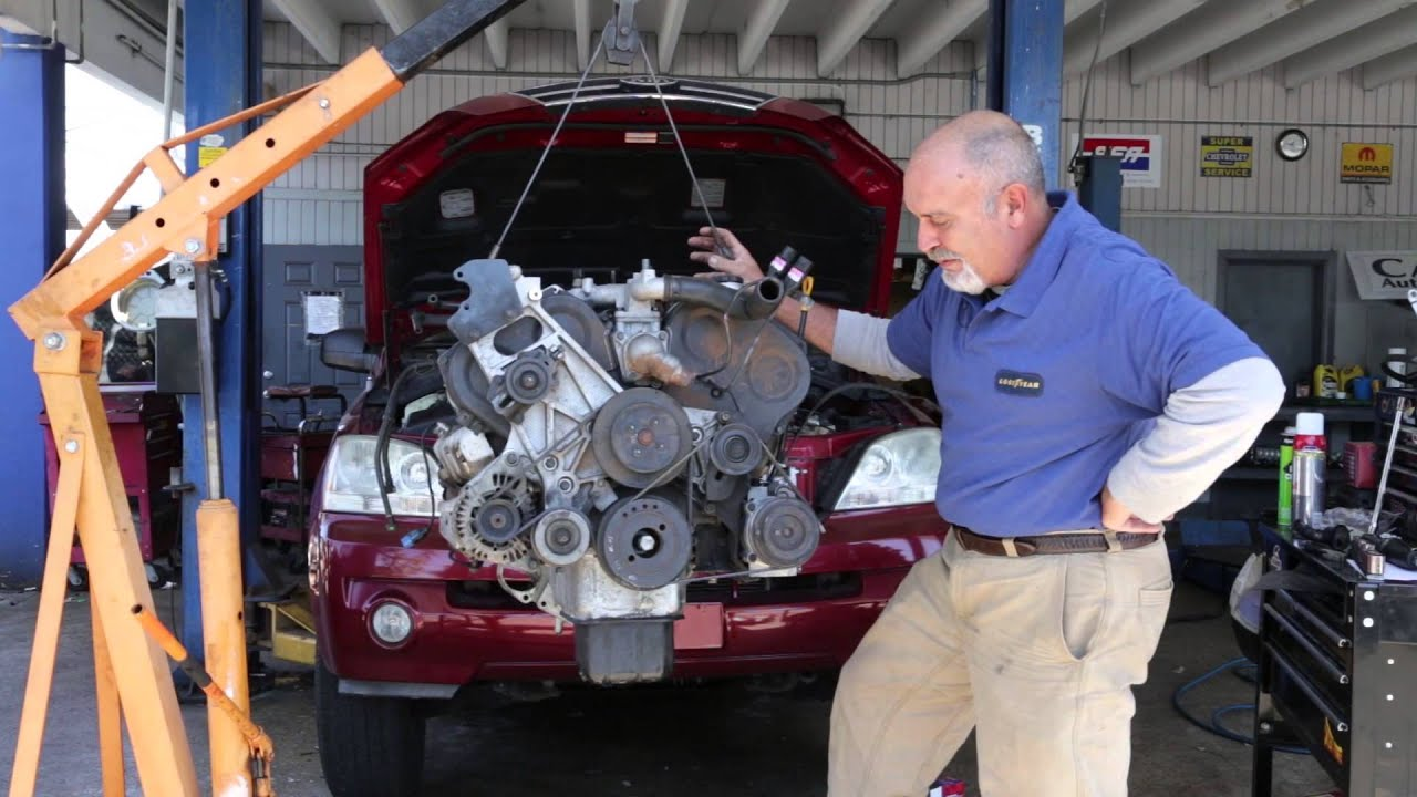 Car Basics  Kia Sorento V-6 Engine