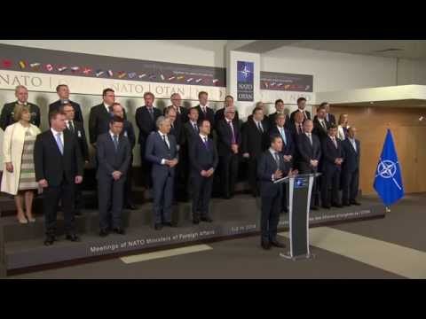Ceremony to mark the NATO enlargement anniversaries, Foreign Ministers Meeting, 1 April 2014