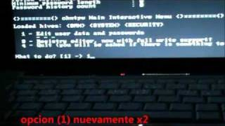 Hackear Windows Offline Nt Password and Registry Editor view on youtube.com tube online.