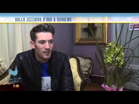 Sanremo 2015: Giovanni Caccamo, Vincitore Nuove Proposte