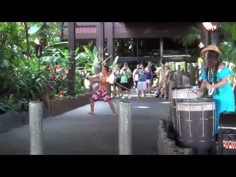 Disney's Polynesian Torch Lighting Ceremony