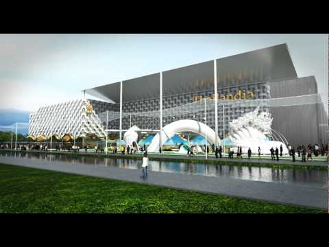 Thailand Pavilion in World Expo 2015, Milan, Italy