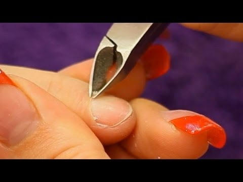How to use a Cuticle Nipper Tutorial Video by Naio Nails