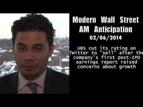 Modern Wall Street AM Anticipation: February 6, 2014