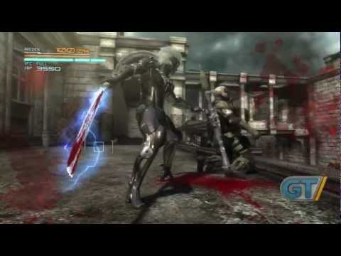 Metal Gear Rising: Revengeance - Stealth Demo Gameplay