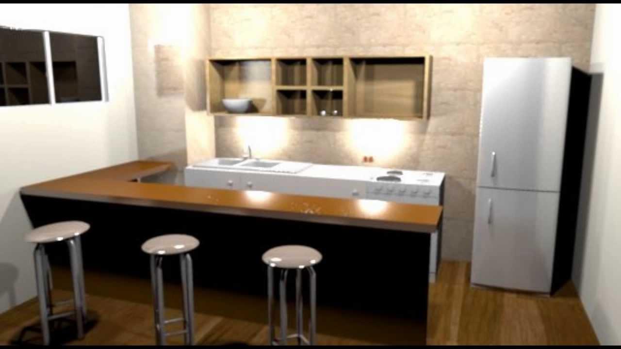 Cocina en 3d sweet home 3d youtube for Programa para cocinas 3d gratis