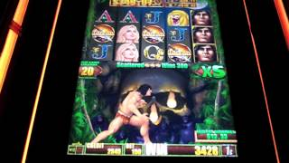 Aristocrat Tarzan Slot Machine Bonus
