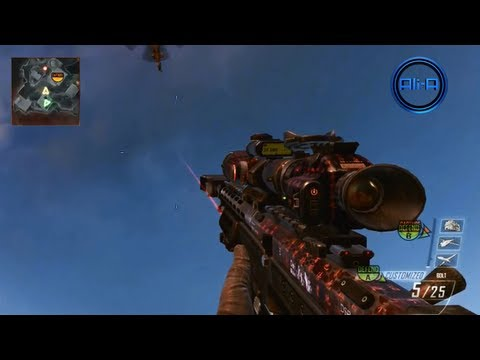 BLACK OPS 2 multiplayer GAMEPLAY - SNIPER Gameplay! No scoping & Crossbow! - Call of Duty BO2 Online