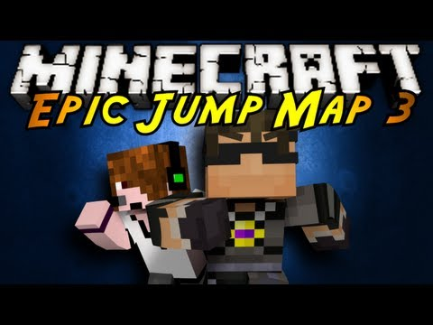 Minecraft: Epic Jump Map 3 Part 2!