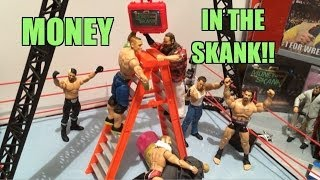 GTS WRESTLING: Money In The Bank! WWE Figure Matches