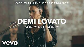 Demi Lovato - Sorry Not Sorry (Vevo X Demi Lovato)