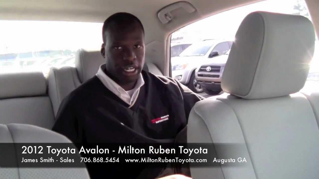 2012 Toyota Avalon Walkaround Milton Ruben Toyota