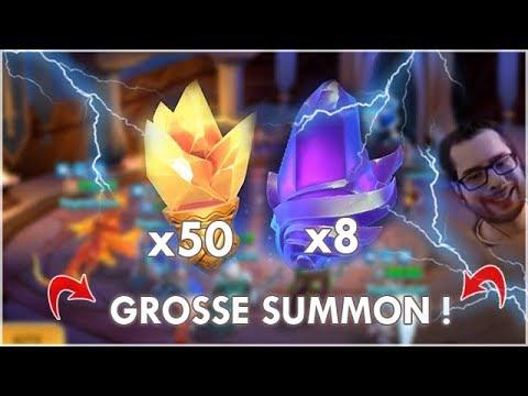 GROSSE SUMMON SESSION : 8 PIERRES LEGENDAIRES !! MMEG
