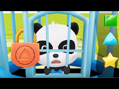 Little Panda Save The Town | Baby Panda Fun Puzzle Game For Kids