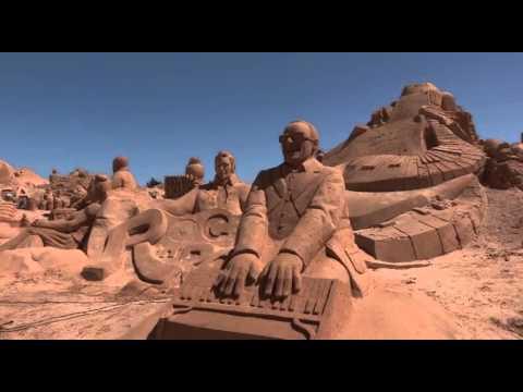Cem mil esperados no Festival de Esculturas de Areia do Algarve