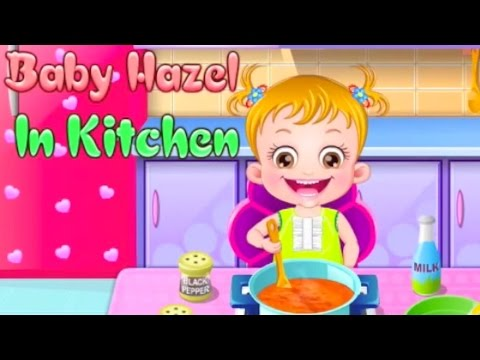 Baby Hazel - Preparing for Bed & Making Food | Full Games 2014