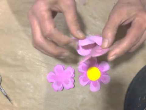 Flor em EVA